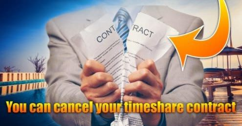 get out of your timeshare contract